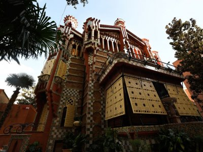 Spend the night in Gaudí's Casa Vicens for just €1!