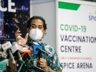 Khairy confident of vaccinating 50pc of adult population by Aug