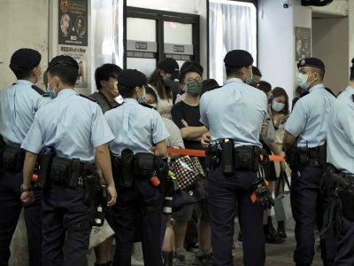 """美国首发商业警示""""远离香港""""! 加码制裁7中港高官"""