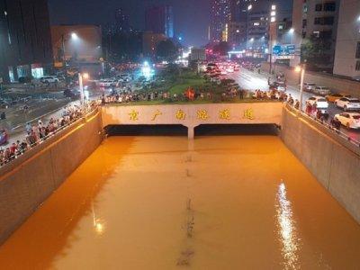 郑州暴雨淹没4公里隧道!百车灭顶死伤难估计