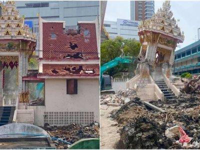泰国单日逾万确诊     寺庙火葬场超负荷烧爆坍塌