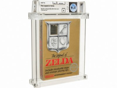Zelda game cartridge sells for 'world record' US$870,000 at auction