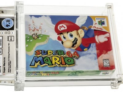 'Super Mario' cartridge sold for video game record US$1.5m