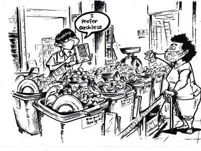 绘出新常态下的幽默!槟艺术家推《Tanjong Life: A New Norm》
