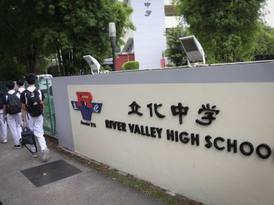 Singapore education minister: River Valley High School staff, students given immediate psychological support, referred to professional help where needed