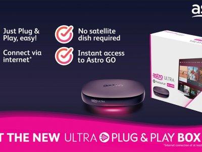 无需连接卫星天线!Astro推Ultra Plug & Play Box