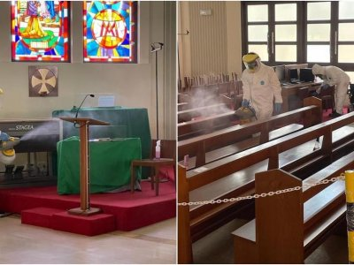 Covid-19: Four people who have but no symptoms visited four Catholic churches, contact-tracing with MOH ongoing