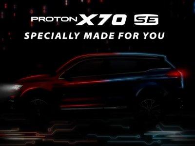Proton X70特别版 722炫丽登场!