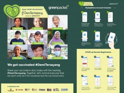 分享故事鼓励接种 绿驰通讯推#DemiTersayang运动
