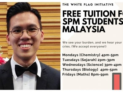 Johor man offering free SPM online tuition with friends for anyone in need, inspired by late friend's kindness