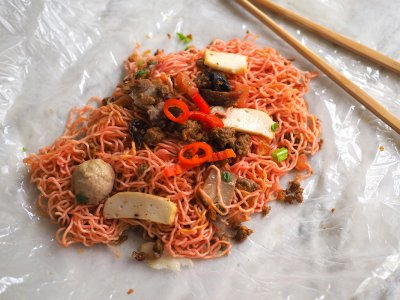 Homesick for Sarawak 'kolo mee'? You can now order it from Mont Kiara's Slurrp