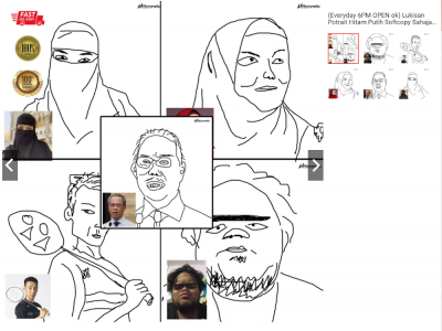 Malaysian artist sells almost 200 pieces of his bad art online after going viral