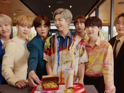 BTS' star power fuels McDonald's global sales growth by 40.5pc in 2021 Q2