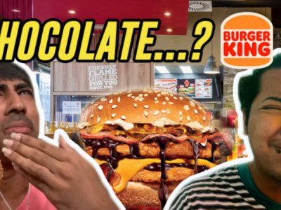 Is the Burger King Chocolate Melt burger actually good? (VIDEO)