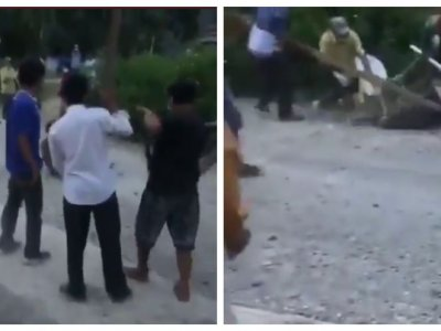 Covid-19: Angry villagers chase down Indonesian man who escaped quarantine to deliberately infect others (VIDEO)