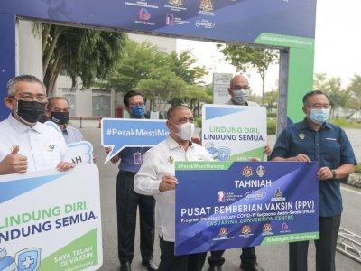 MB says Perak to enter Phase Three of NRP only when 40pc of residents fully vaccinated