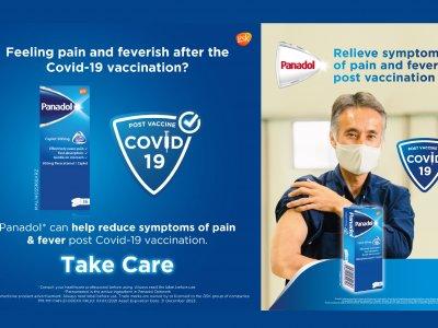 教民众缓解不适症状 Panadol在全马办接种疫苗护理活动