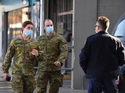 澳洲布里斯班延长封锁令 悉尼出动军人巡街