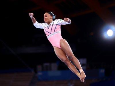 Brazil's Andrade wins women's vault