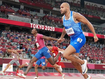 Italy's Jacobs storms to shock Olympic 100m crown