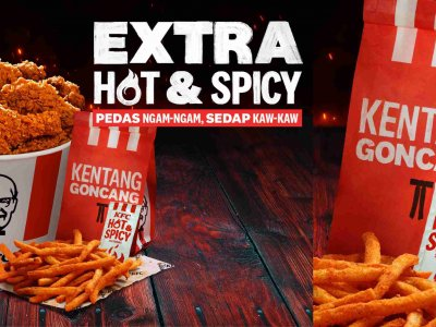 国庆限时呈献!KFC推出全新配方Extra Hot & Spicy