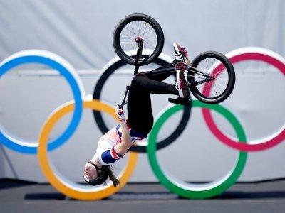 Britain's Worthington and Australian Martin win BMX freestyle golds