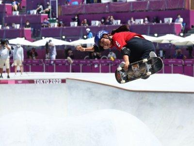 Japan's Yosozumi wins women's park skateboarding Olympic gold