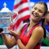 Raducanu relives US Open glory on first night back home