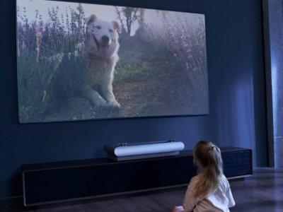 可投射100寸屏幕 JMGO U2激光电视投影机发布
