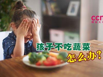 """""""我的孩子讨厌蔬菜怎么办?"""" 饮食治疗师:用这几招从小培养健康饮食习惯"""