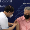 Singapore prime minister gets Covid-19 vaccine booster jab (VIDEO)