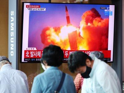 一周内两次!朝鲜再发射2枚弹道导弹