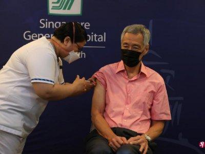 新加坡增910确诊       李显龙打第3针