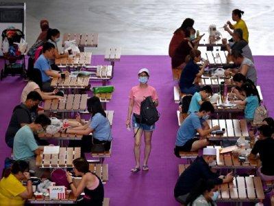 新加坡增934本土确诊    小学生居家上网课