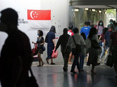 Singapore reports highest single-day rise in Covid-19 cases