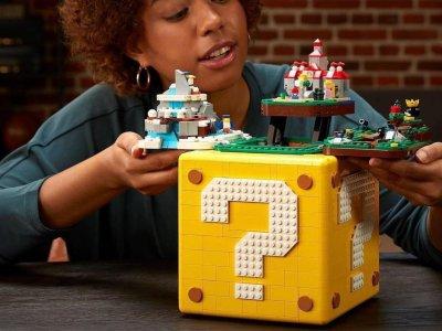 """Lego Super Mario 64 ? Block""面世!乐高与任天堂让你重温经典"