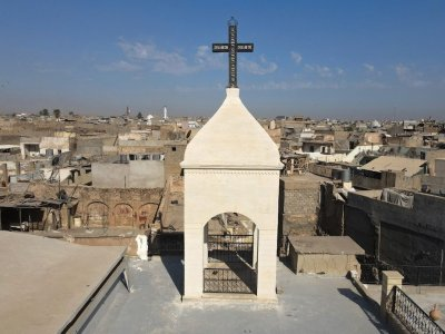 Church in former IS Iraqi stronghold gets new bell