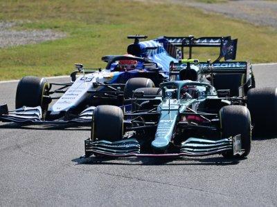 Aston Martin F1 team confirm Stroll and Vettel for 2022
