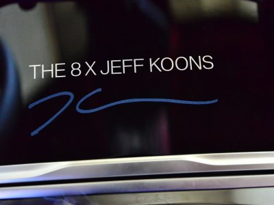 Jeff Koons is creating a special edition of the BMW 8 Series Gran Coupe