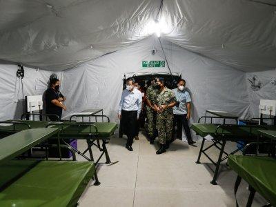 Penang Hospital's ICU, acute wards nearly full ahead of field hospital opening