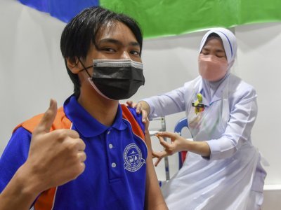 Teens can walk in for Covid-19 jabs at 156 PPVs from Sept 23