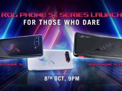 搭载骁龙888+处理器 ROG Phone 5s系列10月8日发布