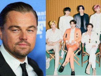 Oscar winner Leonardo Dicaprio revealed as a BTS fan