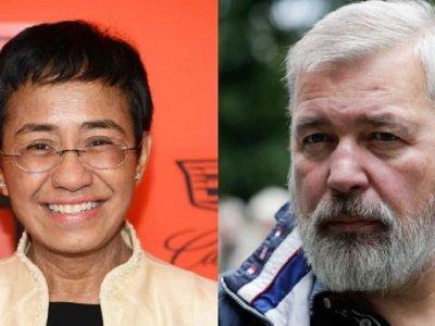 捍卫言论自由获肯定!菲俄2媒体人共享诺贝尔和平奖