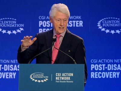 美国前总统克林顿入ICU      与新冠病毒无关