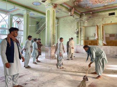 阿富汗清真寺又遇袭41死     IS-K报复塔利班犯案