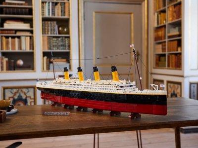 打破最长乐高记录!泰坦尼克号套装细节规模皆爆表