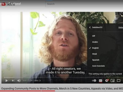 YouTube rolls out automatic captions for all