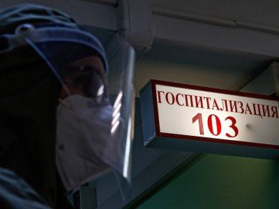 As Russia's Covid-19 toll surges, a Siberian hospital struggles to cope