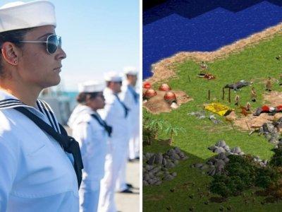 骇客入侵美国军舰官方脸书账号 直播《帝国时代》游戏!